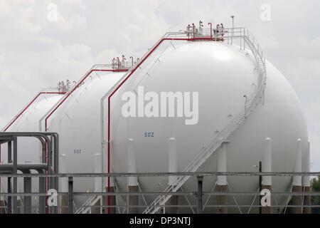 ... Jul 14, 2006; Belle Chasse, LA, USA; The Alliance Refinery,
