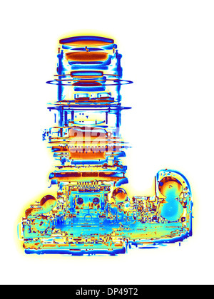 Digital SLR camera, X-ray - Stock Photo