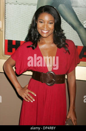 Aug 22, 2006; New York, NY, USA; Actress GABRIELLE UNION at the arrrivals for the opening night of hip hop artist - Stock Photo
