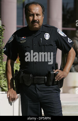 Sep 23, 2006; West Palm Beach, FL, USA; Portrait of Freddy Naranjo, The Acreage, a West Palm Beach Police Officer - Stock Photo