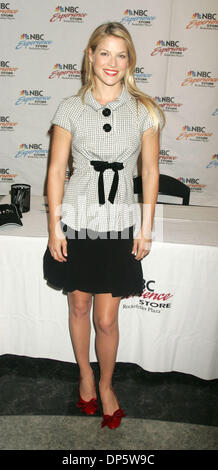 Sep 25, 2006; New York, NY, USA; Actress ALI LARTER promotes her new show 'Heroes' at the NBC Experience Store. - Stock Photo