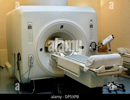 Sep 28, 2006; Palm Beach Gardens, FL, USA; The MRI Machine