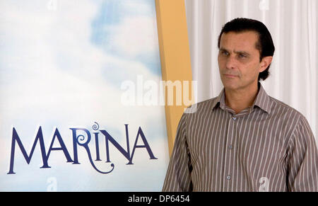 Oct 05, 2006; Los Angeles, CA, USA; HUMBERTO ZURITA of the new upcoming TV novela 'Marina' pose for a picture in - Stock Photo