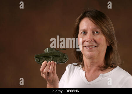 Oct 04, 2006; Palm Beach, FL, USA; Appraisal of WWII toys owned by Trudy Gordon. Mandatory Credit: Photo by Tim - Stock Photo