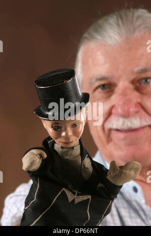 Oct 04, 2006; Palm Beach, FL, USA; Appraisal of Charlie McCarthy puppet owned by Jack Freese. Mandatory Credit: - Stock Photo