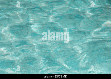 water in pool texture - Stock Photo