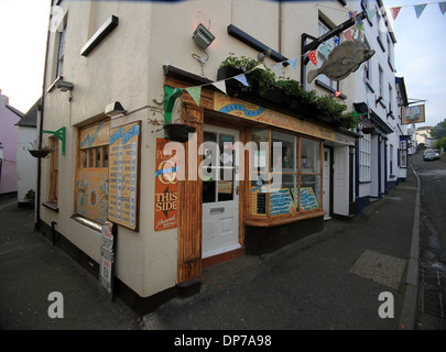 Fish and Chip shop in Appledore, Devon - Stock Photo