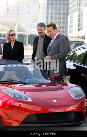 Nov 30, 2006; Los Angeles, CA, USA; Continuing his commitment to alternative fuels, Governor ARNOLD SCHWARZENEGGER - Stock Photo