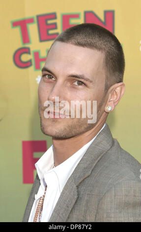 Aug 20, 2006 - Los Angeles, California, USA - KEVIN FEDERLINE at the 2006 Teen Choice Awards held at Universal Studios, - Stock Photo