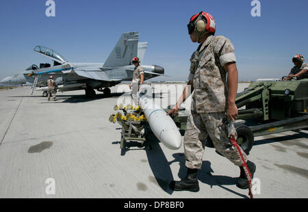 (Published 6/11/2006, G-5) Friday, June2, 2006_San Diego/Miramar Air Station_Private First Class STEPHEN J. COMPOS - Stock Photo