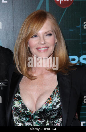 Las Vegas, Nevada, USA. 8th Jan, 2014. Actress MARG HELGENBERGER attends the premiere party of CBS TV 'Intelligence' - Stock Photo