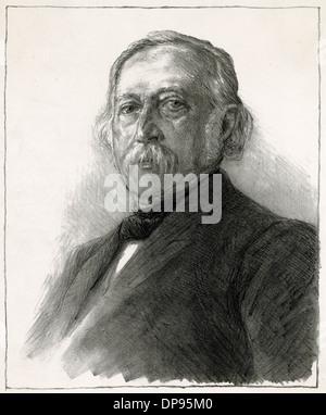 FONTANE (1819 - 1898) - Stock Photo