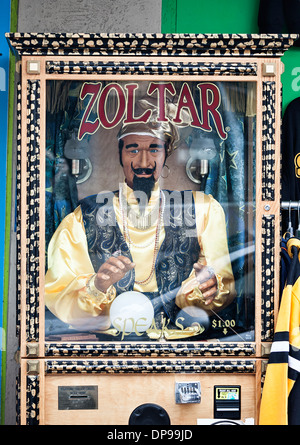 Zoltar, fortune teller machine - Stock Photo