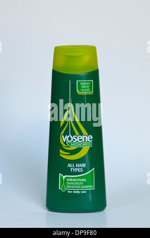 Vosene medicated shampoo. All hair types. Original dandruff prevention shampoo. Works from 1st. use. For daily use. - Stock Photo