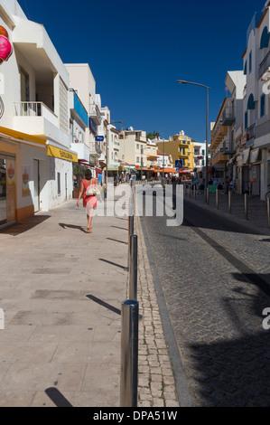 Ruo do Barranco, Carvoeiro, Algarve, Portugal - Stock Photo