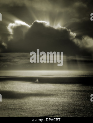 PHOTO ART: Sailing the Atlantic - Stock Photo