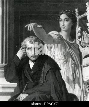 CHERUBINI AND HIS MUSE - Stock Photo
