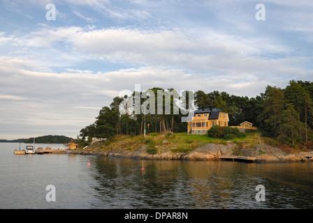 Stockholm archipelago, - Stock Photo