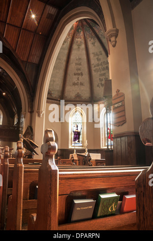 Historic Kenyon College, Gambier, OH. Church of the Holy Spirit - Stock Photo