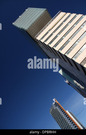 Hilton Diagonal Mar in Diagonal Mar suburb in Barcelona, Catalonia, Spain - Stock Photo