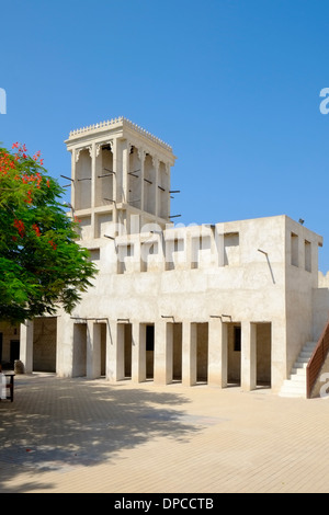 Ras Al Khaimah Museum based in former fort in United Arab Emirates UAE - Stock Photo