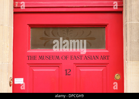 Bath - The Museum of East Asian Art entrance in Bath England UK - Stock Photo