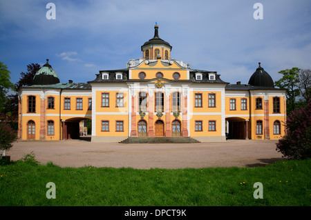 Belvedere Castle, Weimar, Thuringia, Germany, Europe Stock Photo