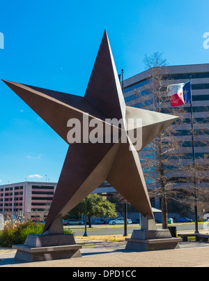 The Bullock Texas State History Museum, is a history museum in Austin, Texas - Stock Photo