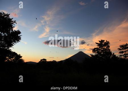 Concepción Volcano Isla de Ometepe Nicaragua - Stock Photo