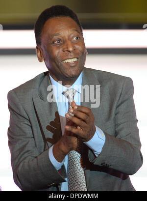 Zurich, Switzerland. 13th Jan, 2014. Brazilian soccer legend Pele attends the FIFA Ballon d'Or Gala 2013 held at - Stock Photo