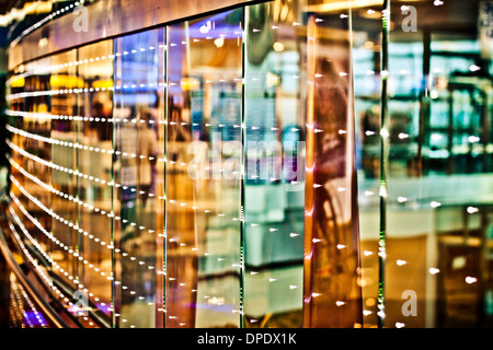 Abstract creative photo of colorful lights and reflections. - Stock Photo