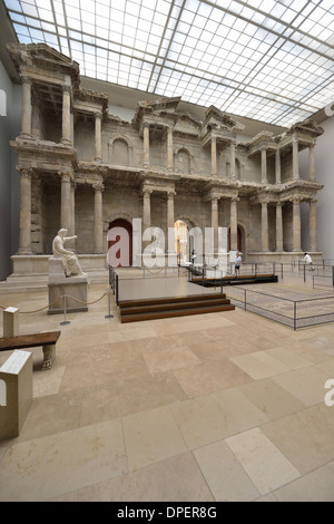 Berlin. Germany. Reconstruction of the Gate of Miletus ...