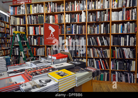 The photography section of the Strand Bookstore on Broadway and East 12th Street in Greenwich Village, New York - Stock Photo