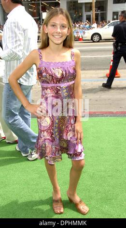 July 23, 2006 - Hollywood, California, U.S. - LOS ANGELES, CA JULY 23, 2006 (SSI) - -.Actress Jessie Flower during - Stock Photo