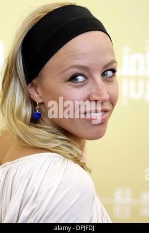 Oct. 10, 2006 - 63rd Venice Film Festival, VENICE, ITALY - NINA PROLL.ACTRESS.FALLEN, PHOTOCALL.63RD VENICE FILM - Stock Photo