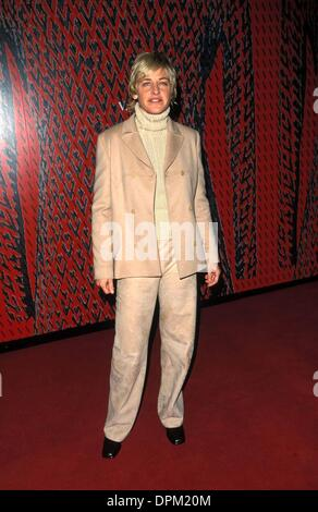 Nov. 27, 2006 - K20401FB.VALENTINO PARTY AT PACIFIC DESIGN CENTER IN LOS ANGELES 11-17-2000.ELLEN DEGENERES . FITZROY - Stock Photo