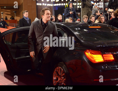 August Diehl - 63rd Annual Berlinale International Film Festival, 'Night Train To Lisbon' Premiere, Berlin - February - Stock Photo