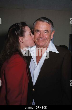 Aug. 31, 2006 - GLENN FORD WITH HIS WIFE CYNTHIA HAYWARD. NATE CUTLER-(Credit Image: © Globe Photos/ZUMAPRESS.com) - Stock Photo