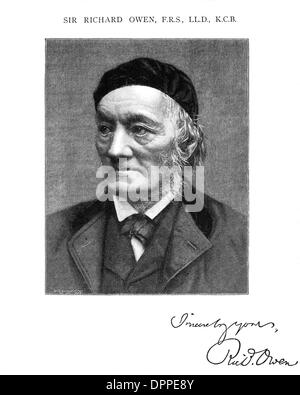SIR RICHARD OWEN - Stock Photo