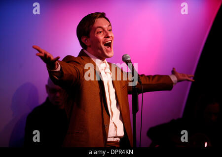 Jan 06, 2009 - New York, New York, USA - Singer MORGAN SILLS performing at The Metropolitan Room. (Credit Image: - Stock Photo
