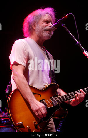Apr 28, 2009 - E. Rutherford, New Jersey, USA - Guitarist BOB WEIR of 'The Dead' performing during the sold out - Stock Photo