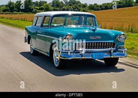 Chevrolet Bel Air Nomad 1955 Stock Photo 230710009 Alamy