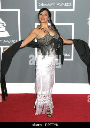 Feb 08, 2009 - Los Angeles, California, USA -  LILA DOWNS   at the  51st Grammy Awards held  at Staples Center, - Stock Photo