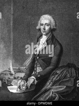 WILLIAM PITT (YOUNGER) - Stock Photo