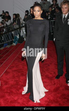 May 04, 2009 - New York, NY, USA -  CIARA at the 'The Model As Muse' MET Costume Gala 2009. (Credit Image: © Dan - Stock Photo
