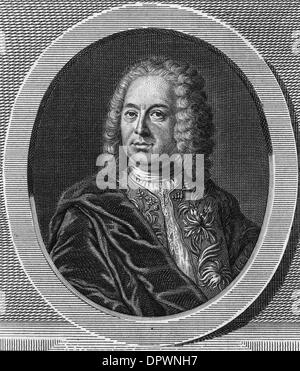 JEAN-BAPTISTE ROUSSEAU - Stock Photo