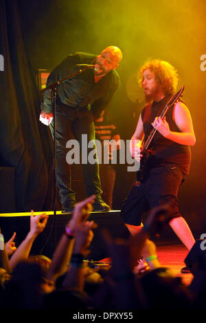 Apr 10, 2009 - Myrtle Beach, South Carolina, USA - Musicians of Killswitch Engage perform live as their 2009 tour - Stock Photo