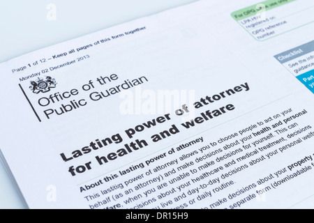 Lasting power of attorney for health and welfare form from the power of attorney document lasting power of attorney for health and welfare form from the office of the public guardian solutioingenieria Image collections