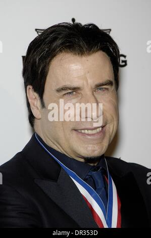 Beverly Hills, CA, . 17th Jan, 2014. John Travolta at arrivals for Living Legends of Aviation Awards, Beverly Hills - Stock Photo