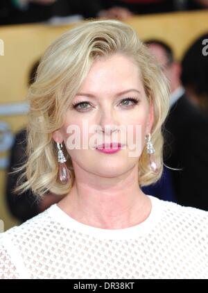 Los Angeles, CA, USA. 18th Jan, 2014. Gretchen Mol at arrivals for The 20th Annual Screen Actors Guild Awards (SAGs) - Stock Photo